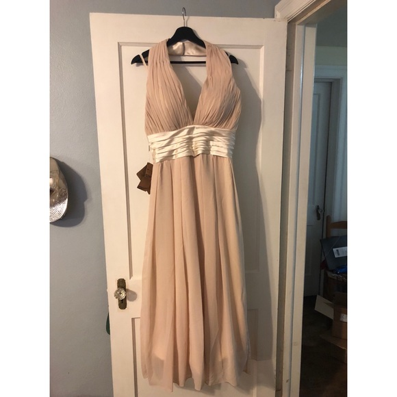 8ec60e4f523 JJ s House size 14 champagne colored long dress